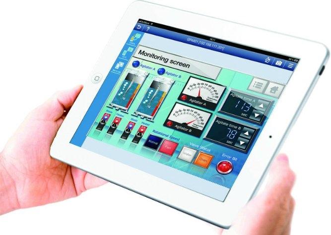 Akıllı telefon ve tablet kullanımının artması sonucu mobil uygulamalar endüstriyel otomasyon alanına da girmiştir. Geliştirilen mobil uygulamalar ile sistem verileri yetkili kullanıcılar tarafından kolaylıkla takip edilebilmektedir.
